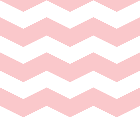 Dauphine and White ~ Chevron Stripe