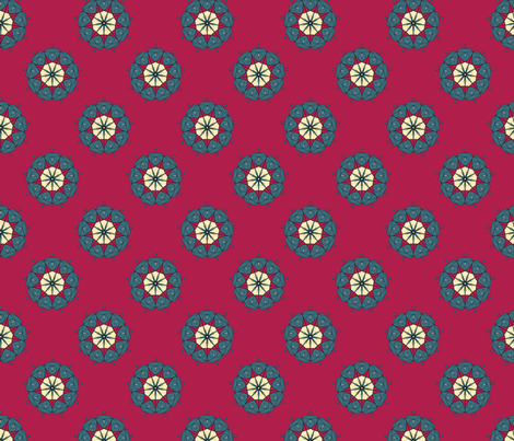 Medalion fabric by pond_ripple on Spoonflower - custom fabric