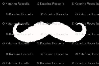 mustache ikat