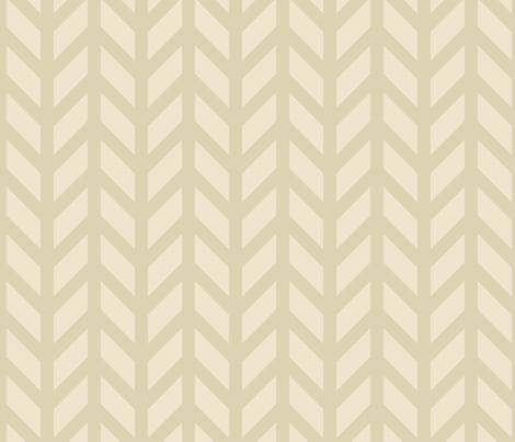 Nude Chevron fabric by creative_merritt on Spoonflower - custom fabric