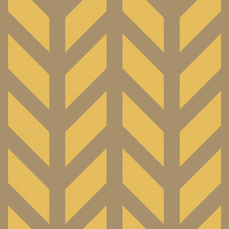 Bronze Chevron fabric by creative_merritt on Spoonflower - custom fabric
