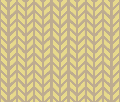 Gold Chevron fabric by creative_merritt on Spoonflower - custom fabric