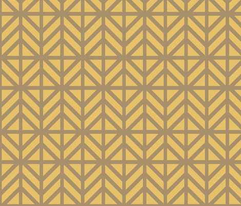 Bronze Diamond Chevron fabric by creative_merritt on Spoonflower - custom fabric