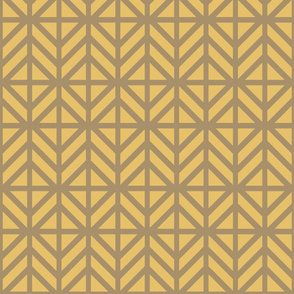 Bronze Diamond Chevron