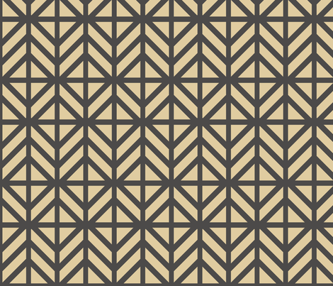 Monotone Diamond Chevron fabric by creative_merritt on Spoonflower - custom fabric