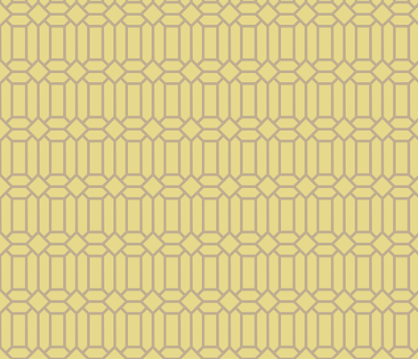 Gold Tudor Glass fabric by creative_merritt on Spoonflower - custom fabric