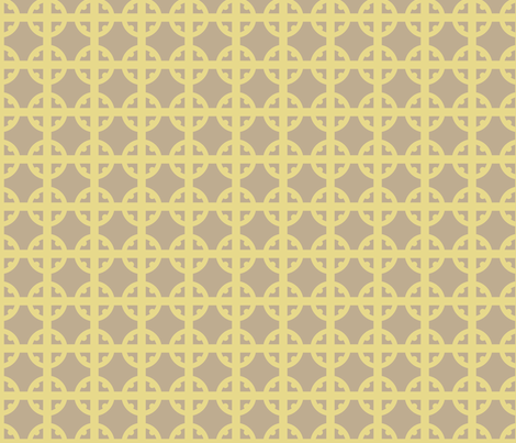 Gold Tudor Circle fabric by creative_merritt on Spoonflower - custom fabric