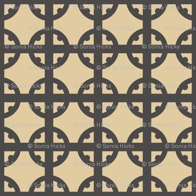 Monotone Tudor Circle
