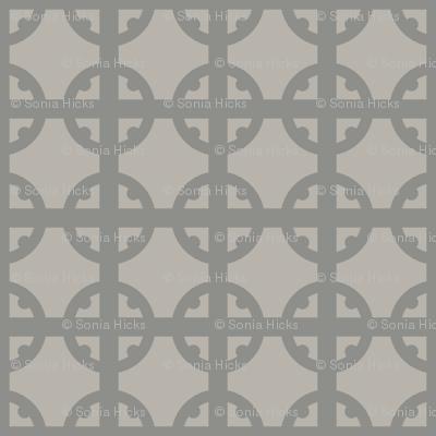 Silver Tudor Circle