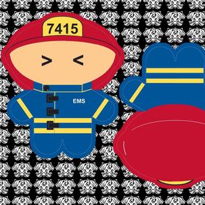 Kawaii Fireman - EMT
