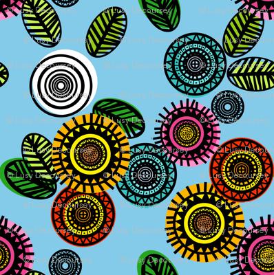 Marimekko inspired Flowers