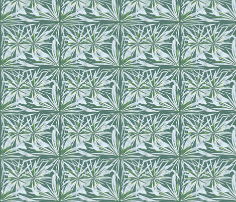 Ice_designer Lydia Falletti  fabric by artsylady on Spoonflower - custom fabric