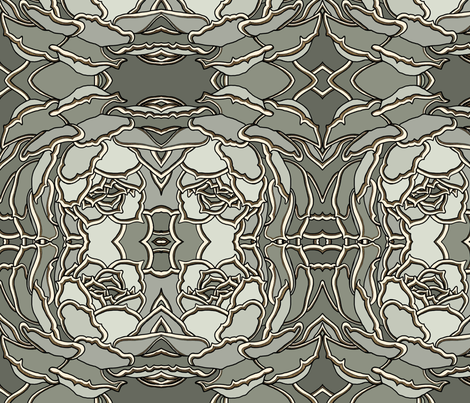 BAUER-Echeveria–2 fabric by scatteredseeds on Spoonflower - custom fabric