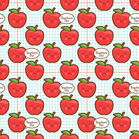 teachers_pet fabric by woodmouse&bobbit on Spoonflower - custom fabric