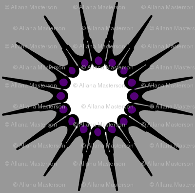 scissors_stars_greynpurple_single_motif