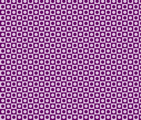 Girls Rock Purple Disco Dots fabric by risarocksit on Spoonflower - custom fabric