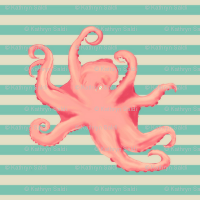 Vintage Octopus - take 2