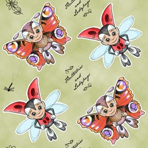 Futterbies and Ladybugs