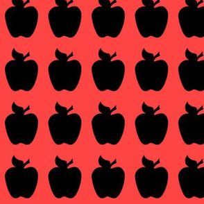 apple black red