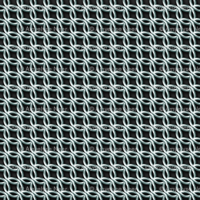 Chain Mail Costume Fabric