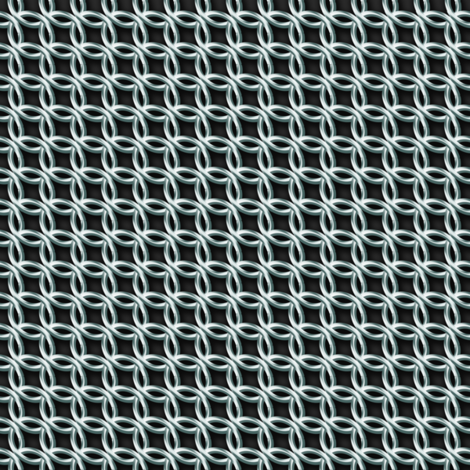 Chain Mail Costume Fabric fabric by amyelyse on Spoonflower - custom fabric