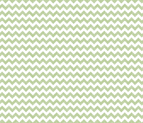 linen chevrons - sage green fabric by spacefem on Spoonflower - custom fabric