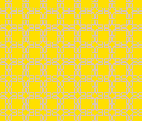 screen_stars_buttercup fabric by golden_tangerine on Spoonflower - custom fabric