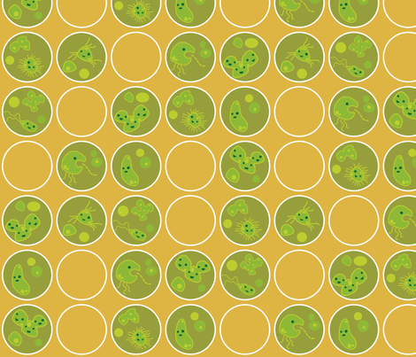 Petri Pals fabric by thecalvarium on Spoonflower - custom fabric
