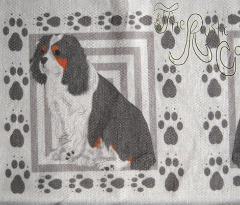 Cavalier small quilting blocks