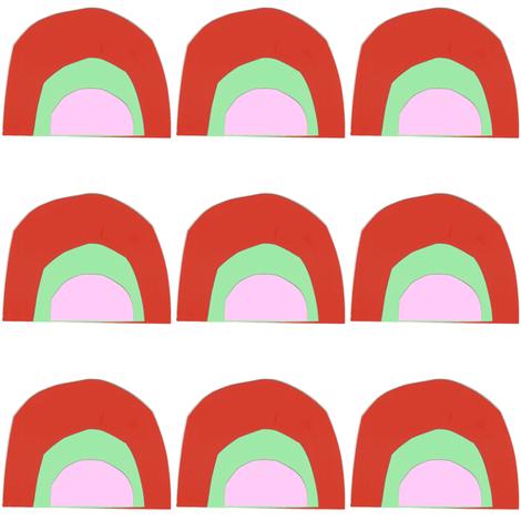 scale rainbow fabric by tagkari on Spoonflower - custom fabric