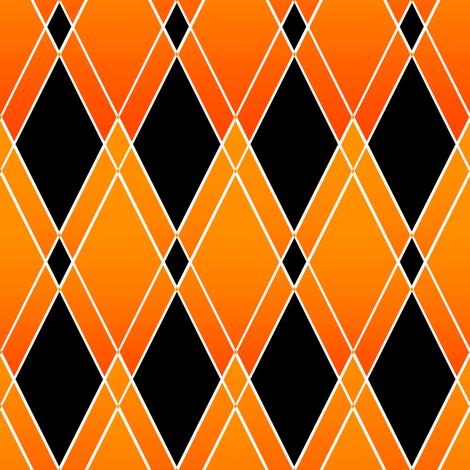 Jester's Harleqin Argyle for Halloween fabric by joanmclemore on Spoonflower - custom fabric
