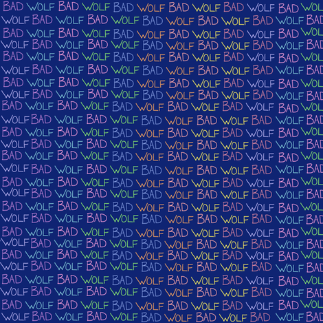 BW (blue/rainbow) fabric by amanda_lovely on Spoonflower - custom fabric