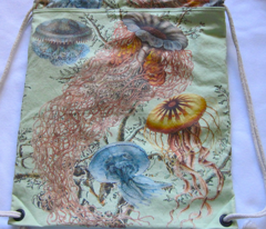jellyfish and octopus bags