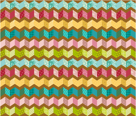 Autumn Fling fabric by designzbydede on Spoonflower - custom fabric