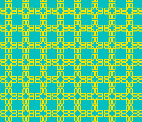 screen_stars_teal fabric by golden_tangerine on Spoonflower - custom fabric