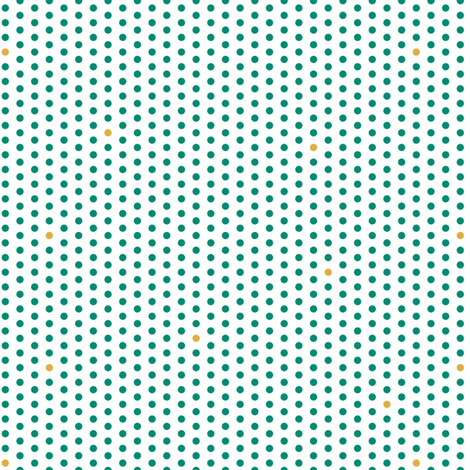 Tiny Dots fabric by thebon on Spoonflower - custom fabric