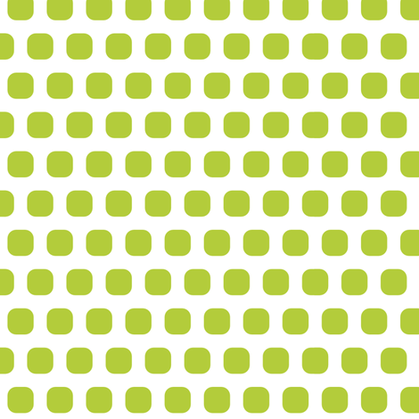 Lime Squircle fabric by thebon on Spoonflower - custom fabric