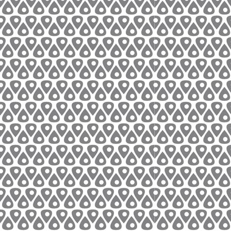 Teardrop Dots fabric by thebon on Spoonflower - custom fabric