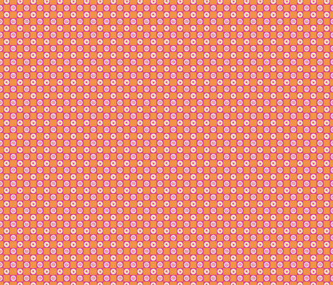 Summer Flower Checkerboard fabric by siya on Spoonflower - custom fabric
