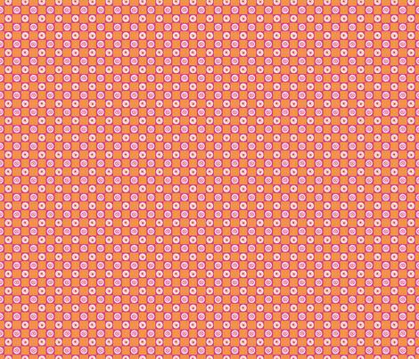 Summer Flower Checkerboard fabric by siya on Spoonflower - custom fabric