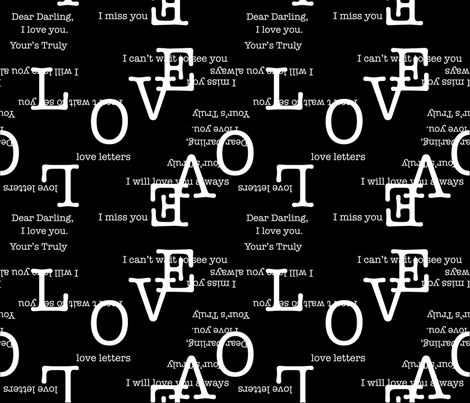 love fabric by eva_motch on Spoonflower - custom fabric