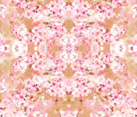 Apple Blossoms fabric by joanmclemore on Spoonflower - custom fabric