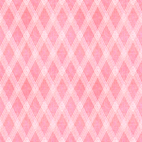 Blooms Pink Diamond Coordinate fabric by joanmclemore on Spoonflower - custom fabric