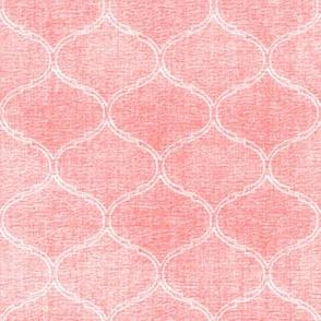 Blooms Coordinate textured pink medallion