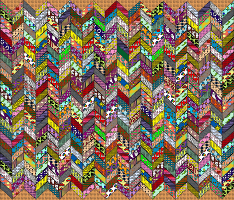 chevron fabric by curt on Spoonflower - custom fabric
