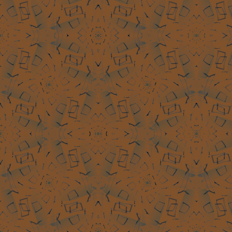 Batik (Burnt Orange) fabric by david_kent_collections on Spoonflower - custom fabric