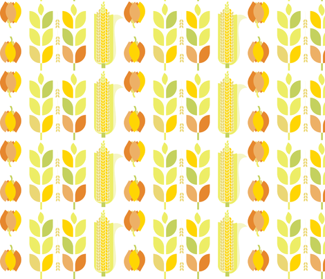 mod_autumn-1200 fabric by wren_leyland on Spoonflower - custom fabric