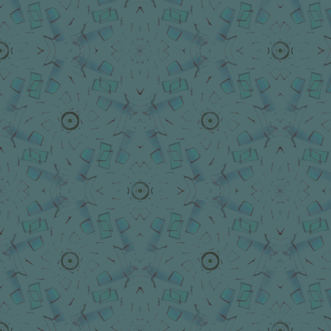 Batik (Blue) fabric by david_kent_collections on Spoonflower - custom fabric