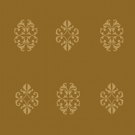 indian spice / antique gold medallion fabric by paragonstudios on Spoonflower - custom fabric