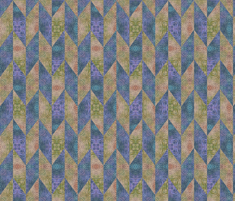 Chevrons fabric by feebeedee on Spoonflower - custom fabric